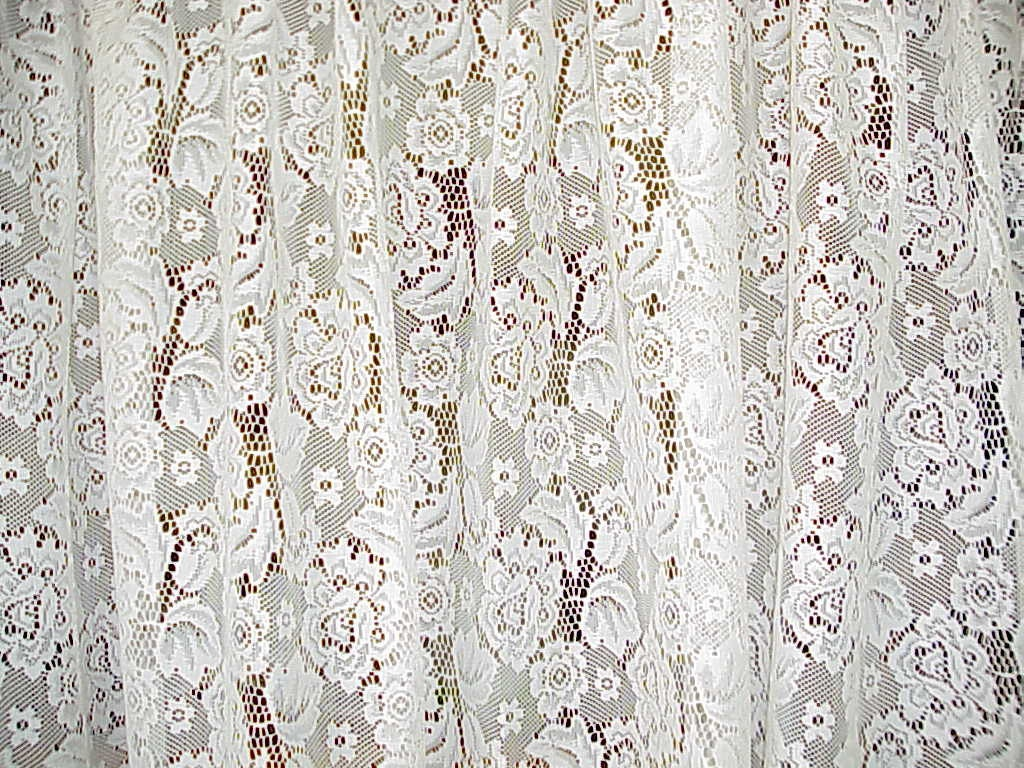 beautiful custom made vintage lace curtain 97 by buttercupgarden