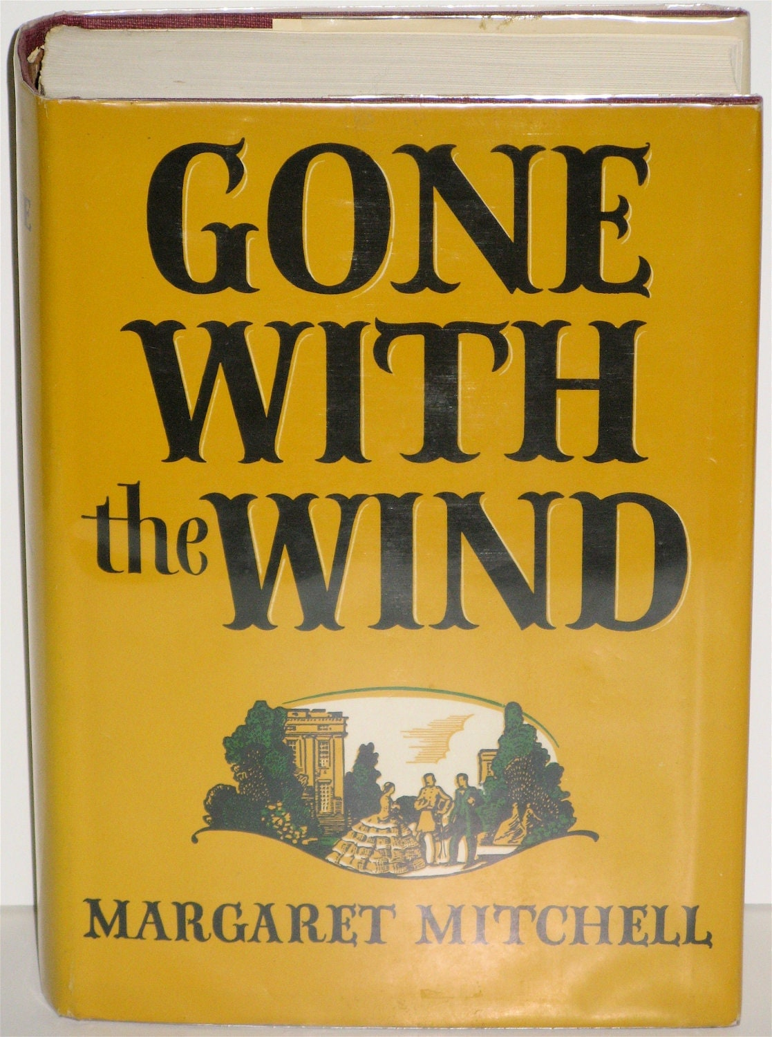 Gone with the wind hardcover w dust jacket leo manso by poojones13 - Gone with the wind download ...
