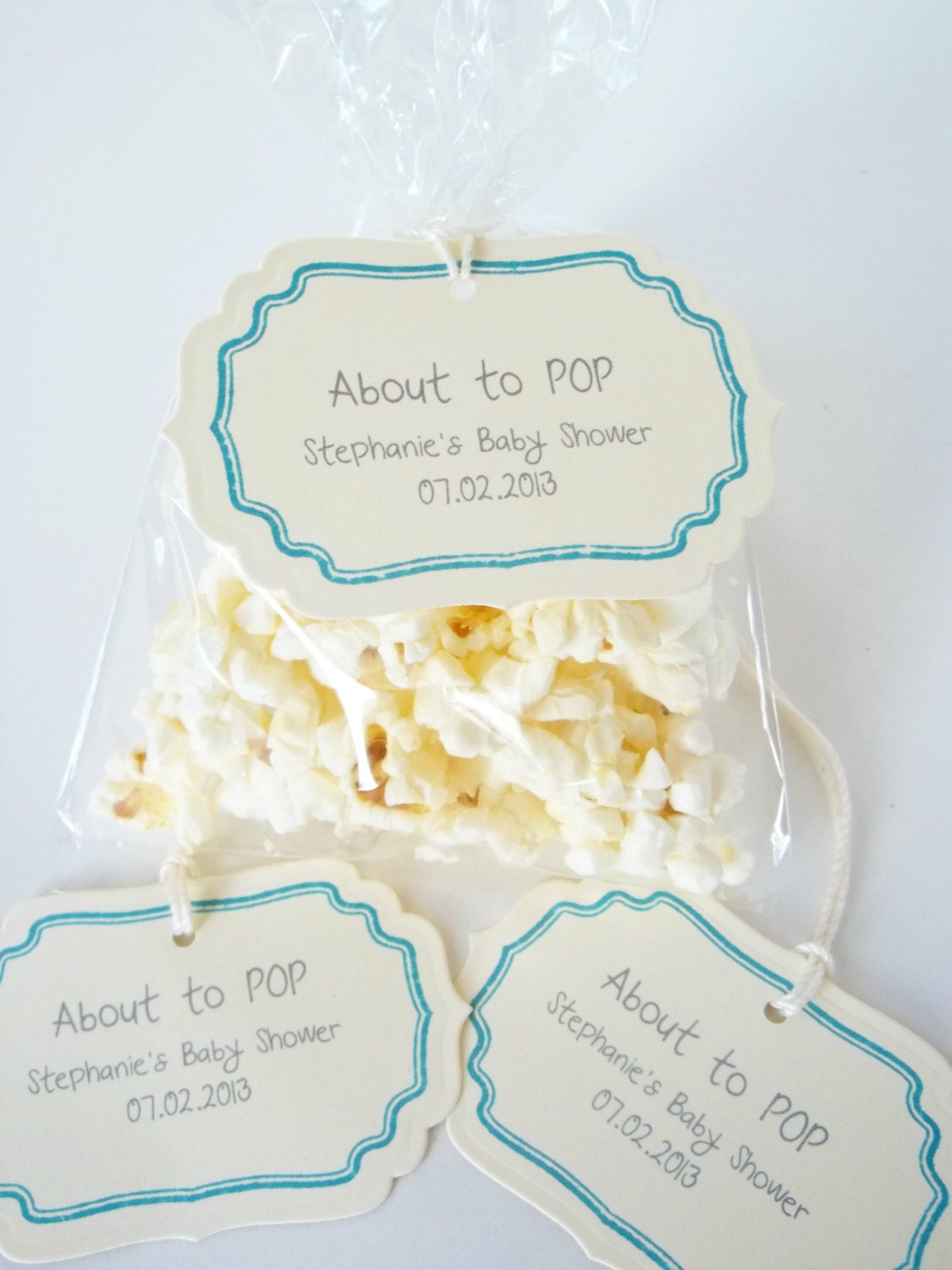 baby shower tags about to pop baby shower decorations its boy