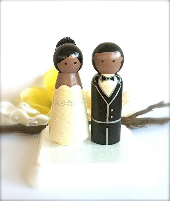 Items Similar To WEDDING CAKE TOPPER African American Hispanic Custom Cake To