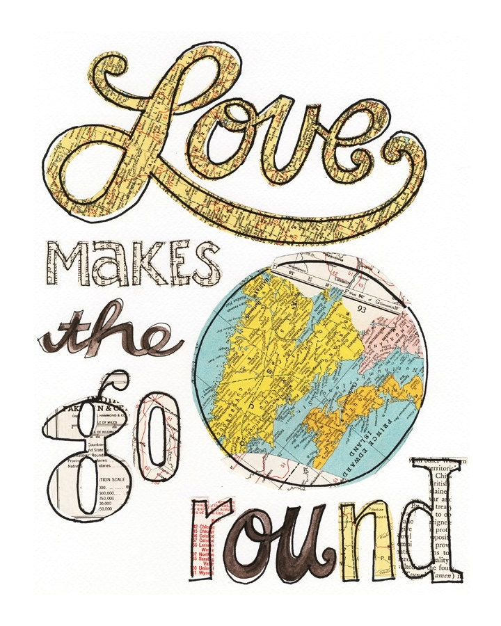 Love makes ... No.2 - giclee print