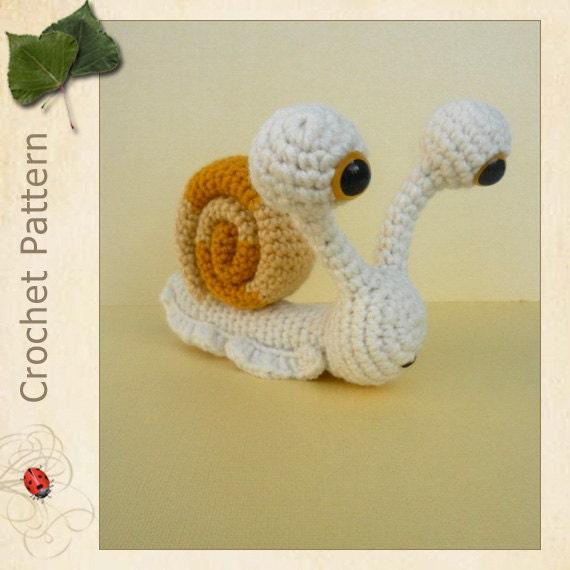 Amigurumi Snail Pattern | Shop | Kaboodle