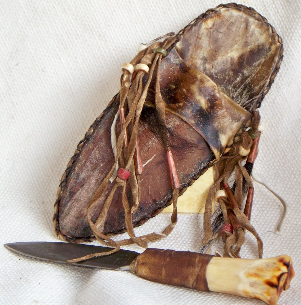 Garter belt knife sheath