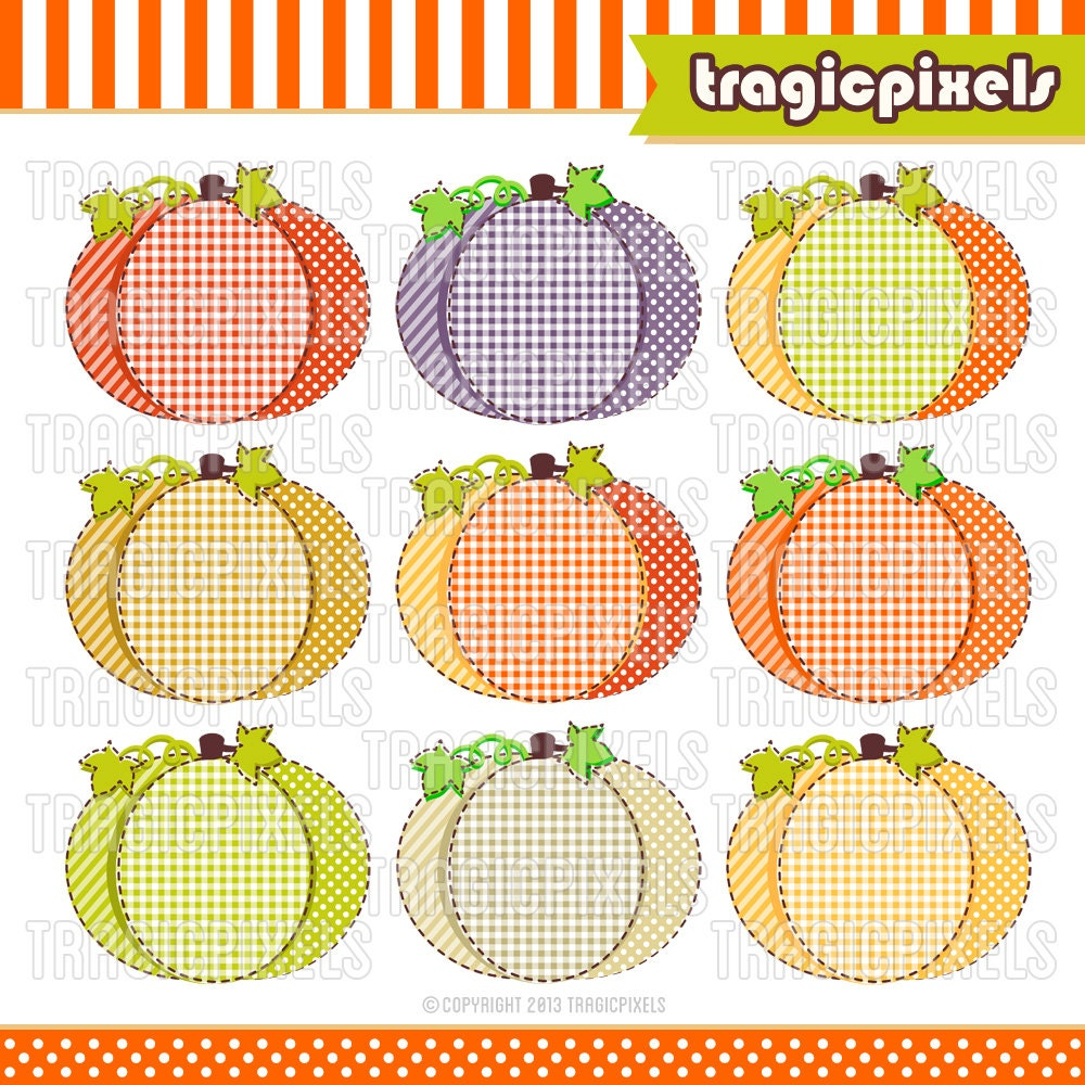 Fall Harvest Clip Art Borders Pumpkin clipart fall harvest
