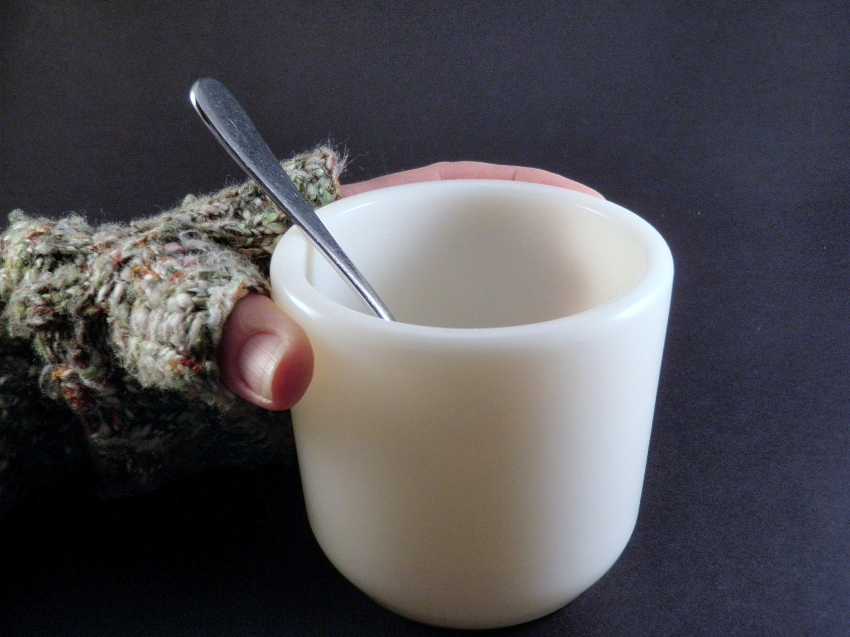 Vintage corning mug wwii us navy watchmens by wildplumtree on etsy - Handleless coffee mugs ...