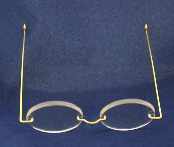 Rimless Eyeglass Lense Shapes : Eye Glasses for Dollsrimless oval shape for Dollmaking by ...