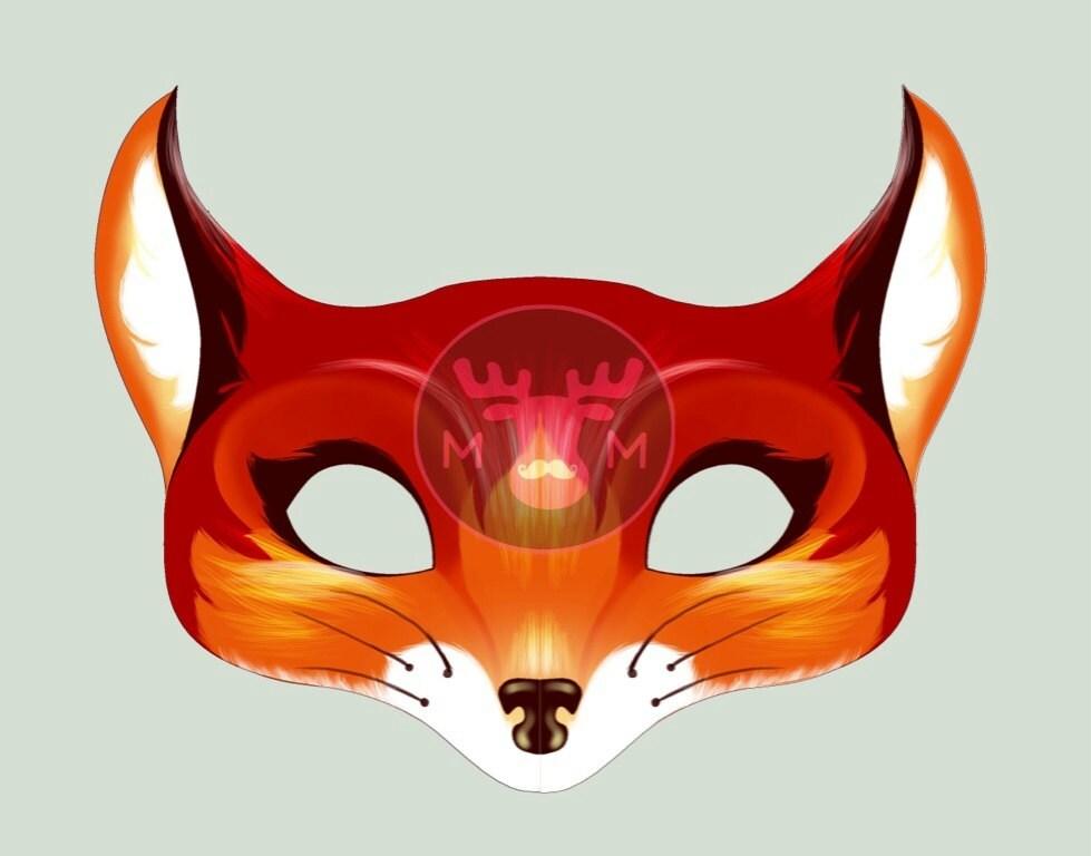 фото маски лисичка