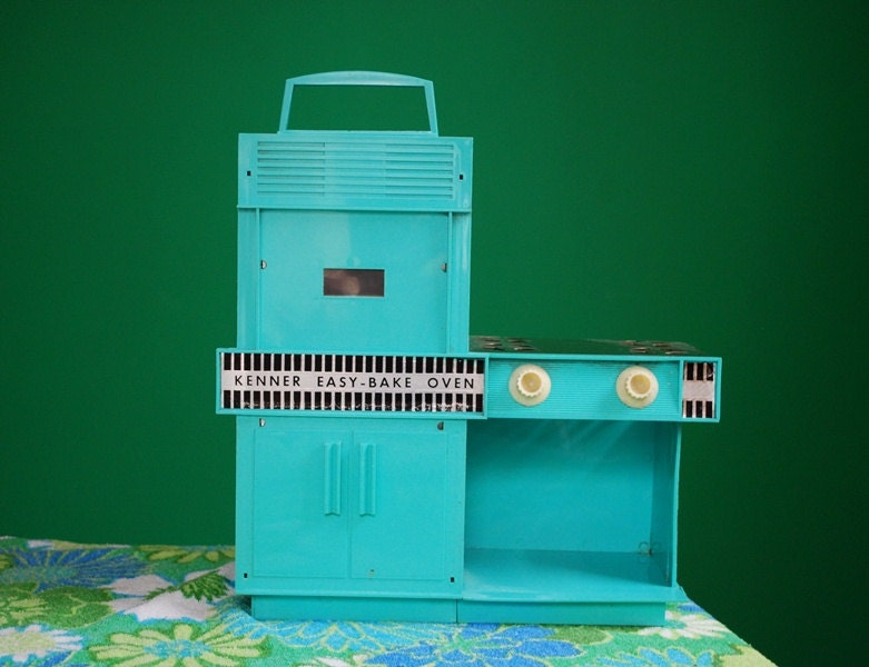 Vintage 1960s Aqua Easy Bake Oven By Sweetshopvintage On Etsy