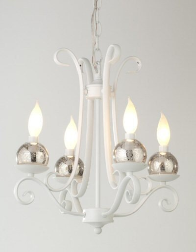 Mercury Glass Candle Wall Sconces : Silver Antique Mercury Glass ChandiCharms Christmas by LightLady