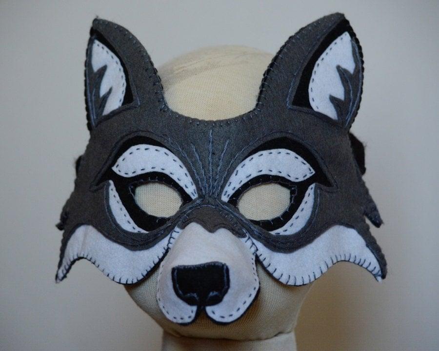 Маски карнавальные своими руками волка