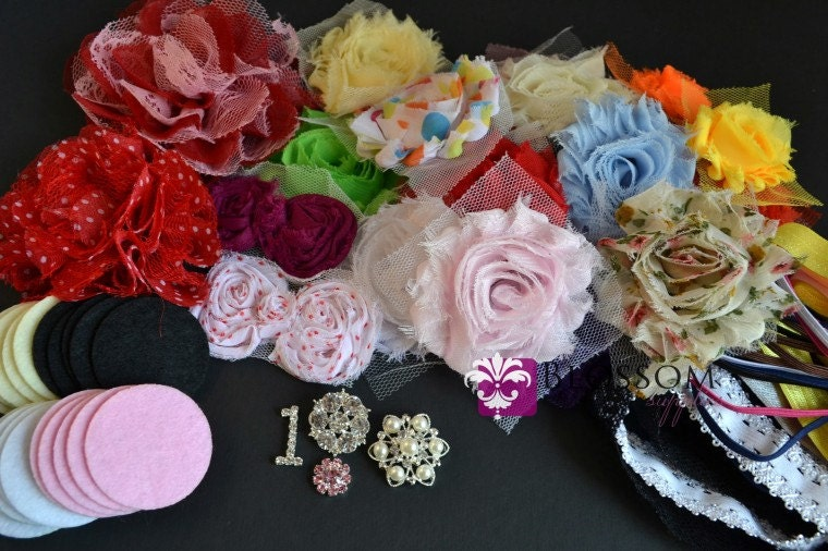 Diy Headband Making Kit Baby Shower Collection By