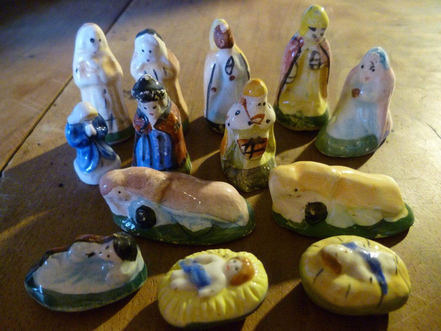 King Cake Feves Epiphany Cake Trinkets Charms People Nativity X13