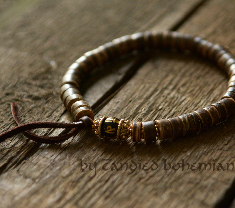 s beaded bracelet jewelry tibetan by candiedbohemian