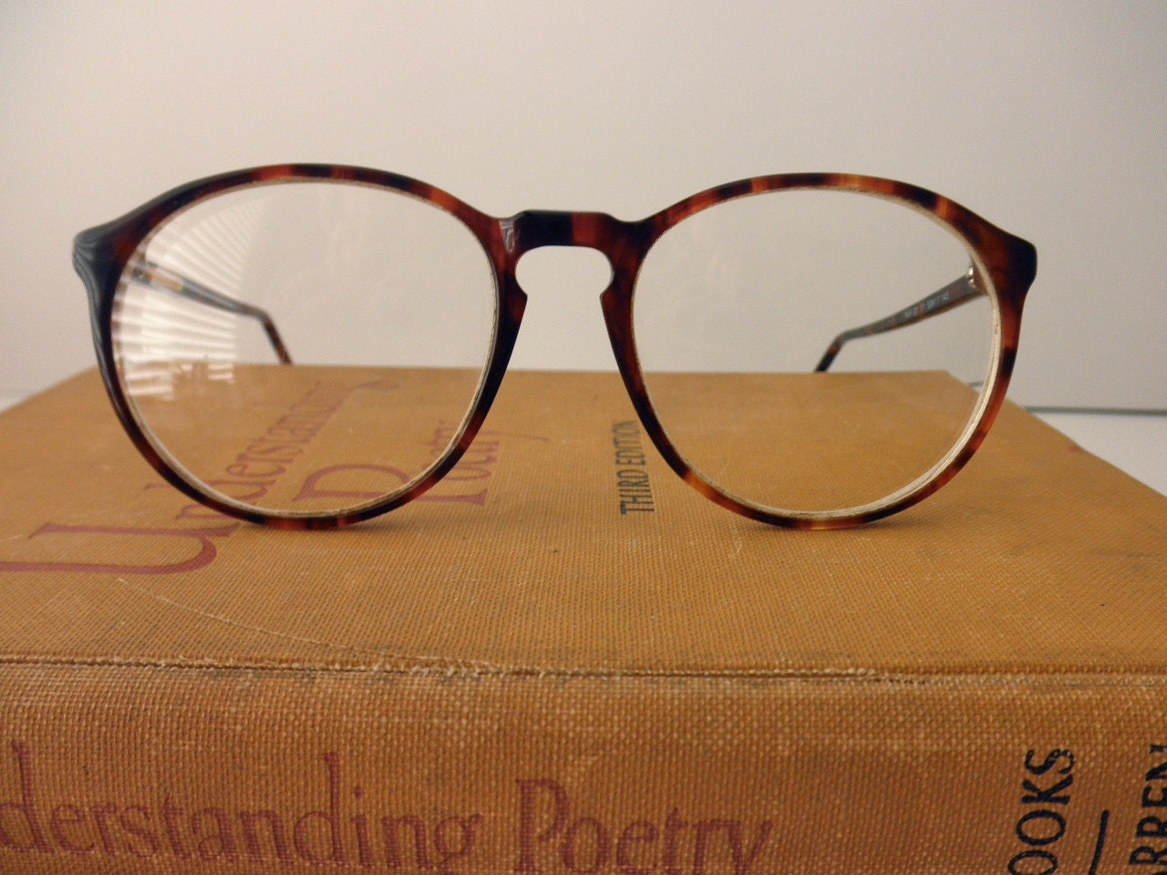 vintage Norman Rockwell tortoise shell eyeglasses by ...