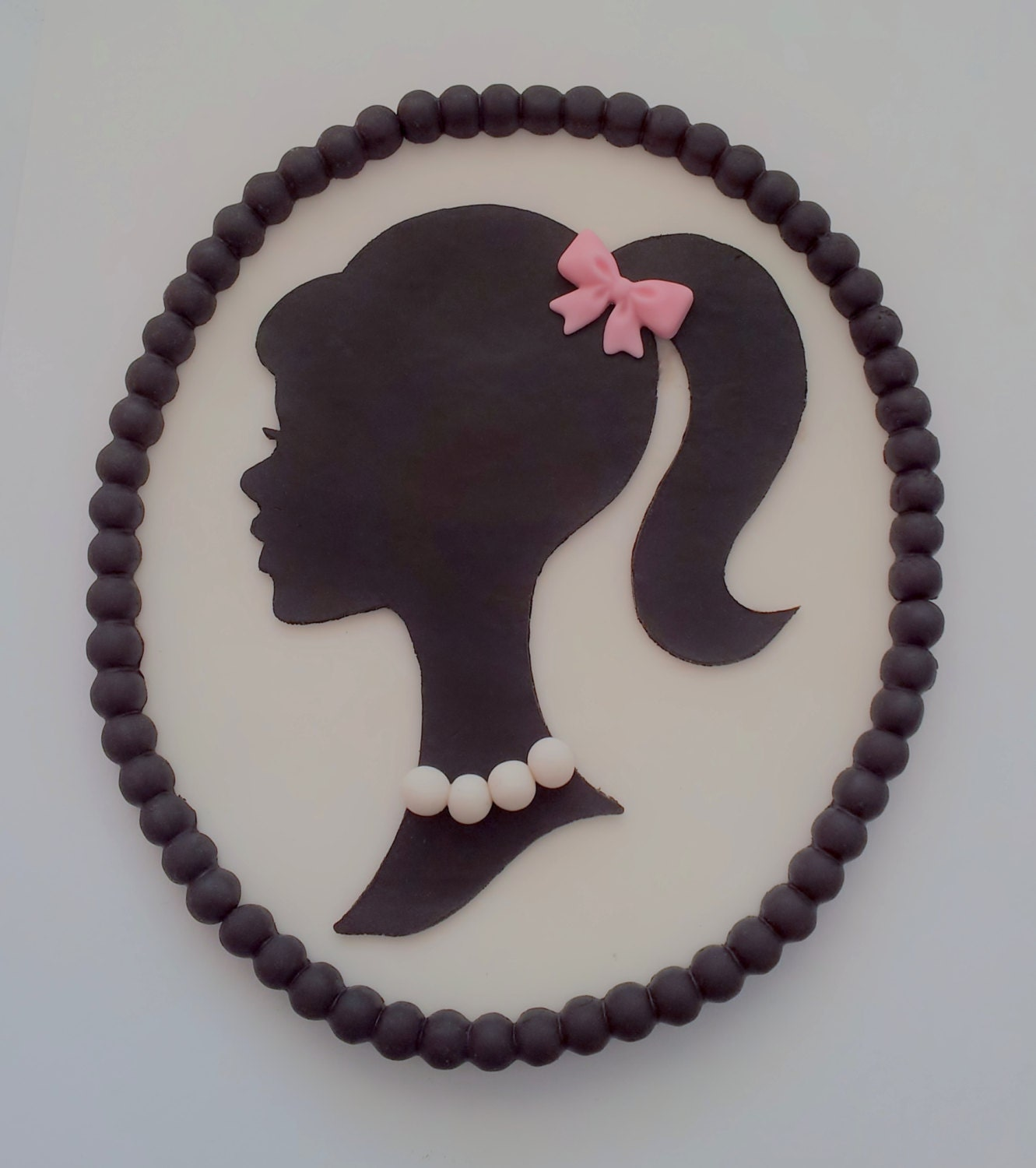 the gallery for gt vintage barbie silhouette printable