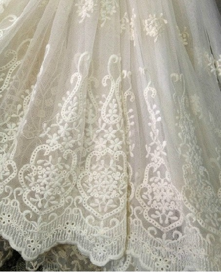 White bridal lace fabric images amp pictures becuo