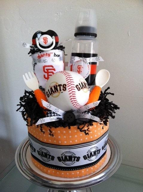 Orange And Black San Francisco Giants By Poolaladiapercakes