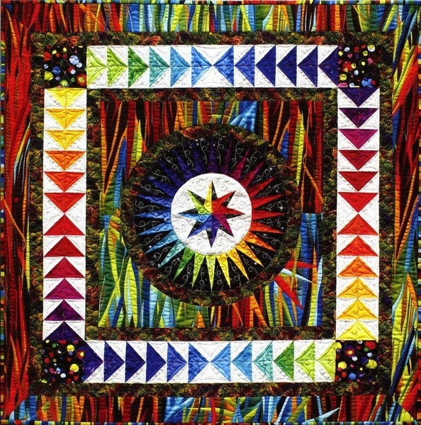 Items Similar To Be Colourful Happiness Quilt Pattern With
