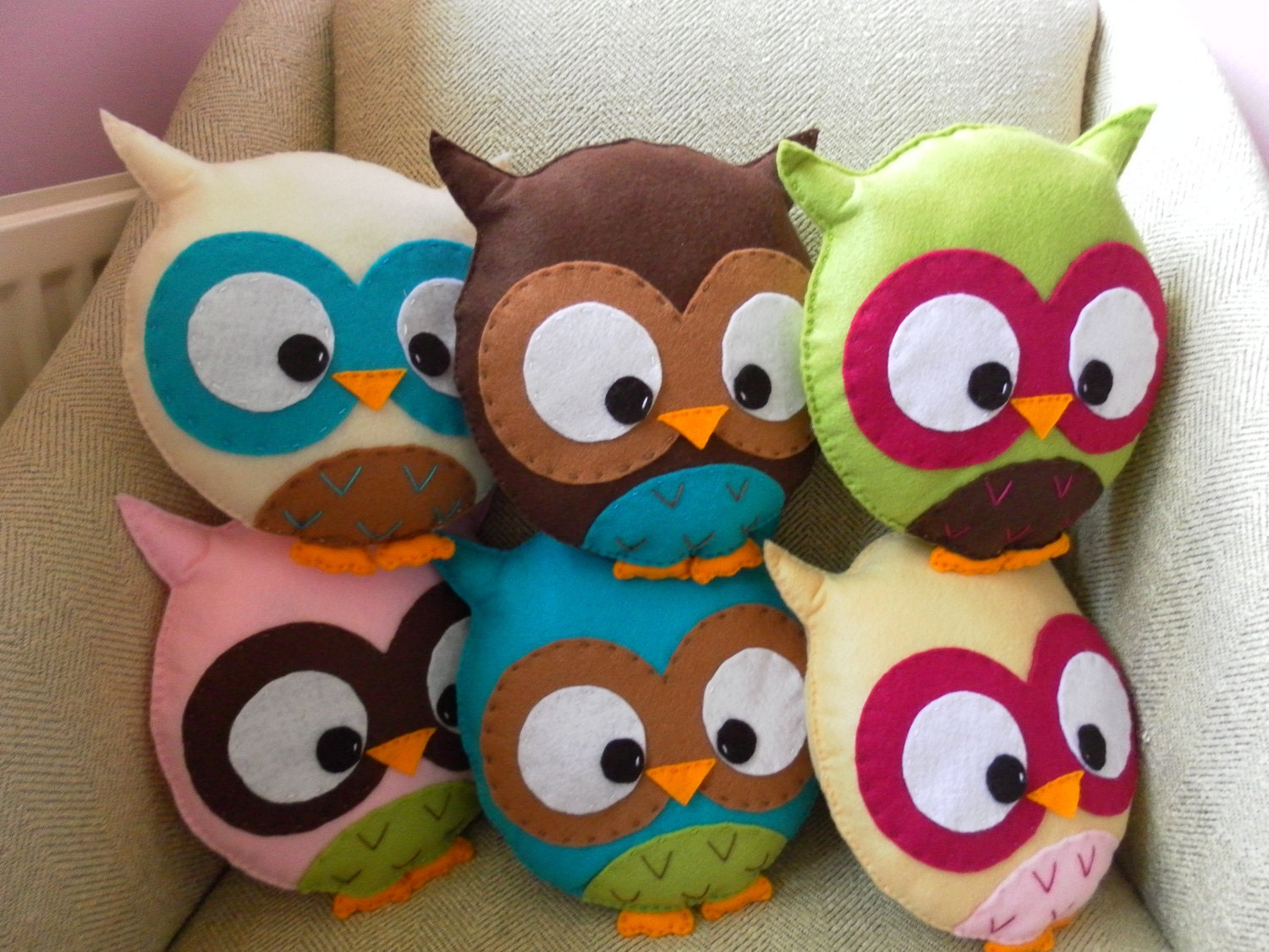 Items Similar To Custom Large Owl Plush Toy On Etsy