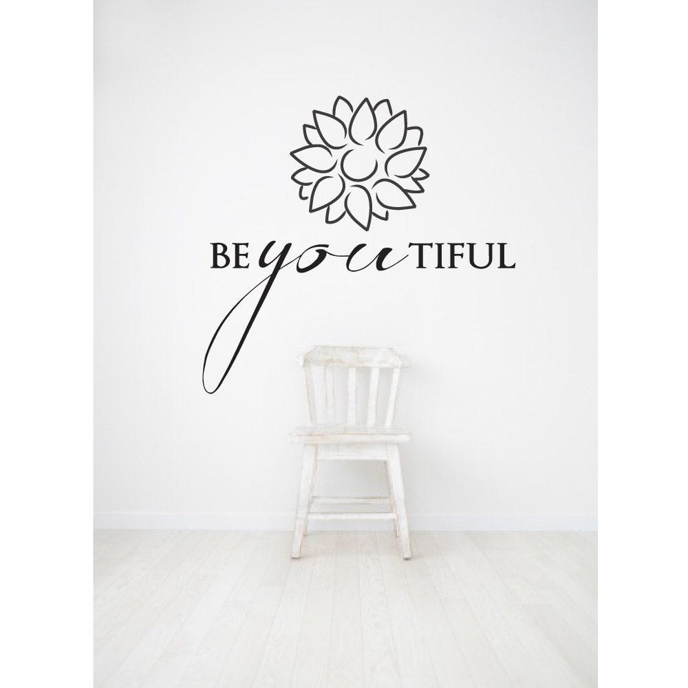 Beyoutiful Beautiful Wall Quotes Wall Word