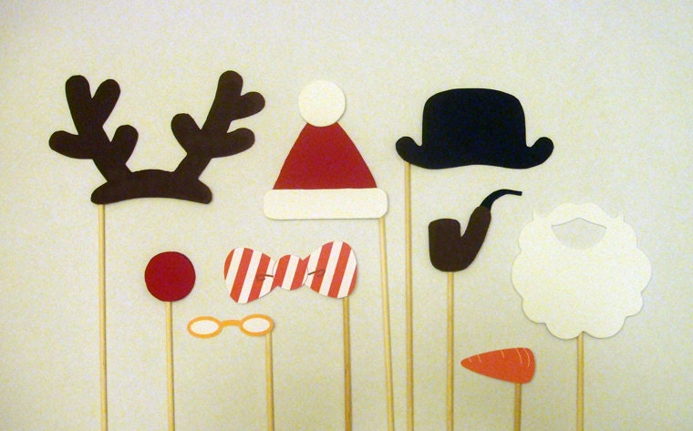 Exhilarating image throughout christmas photo booth props printable
