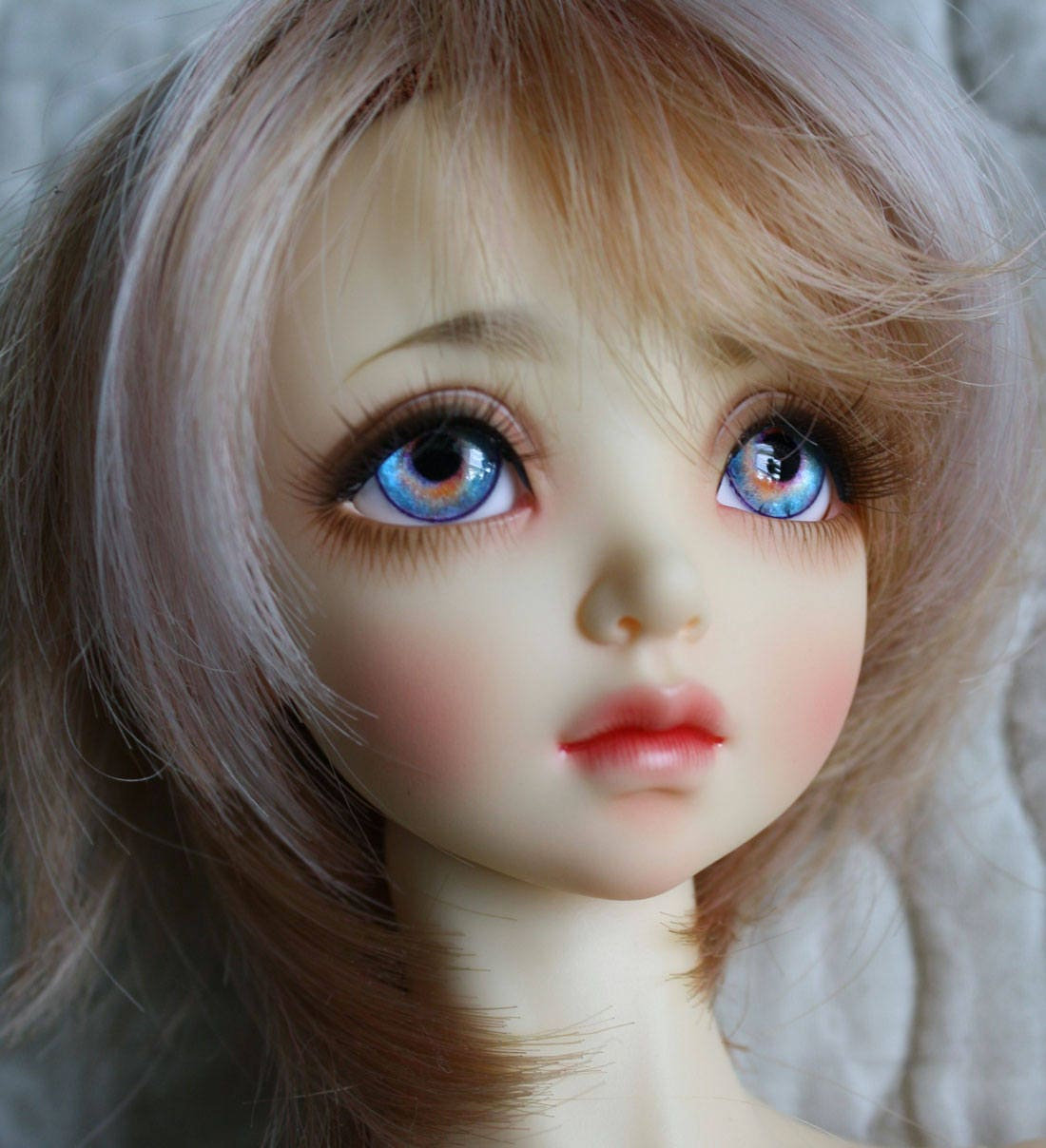 BJD eyes Doll eyes Hand made available in 12141618202224mm Violet Sorbet made to order