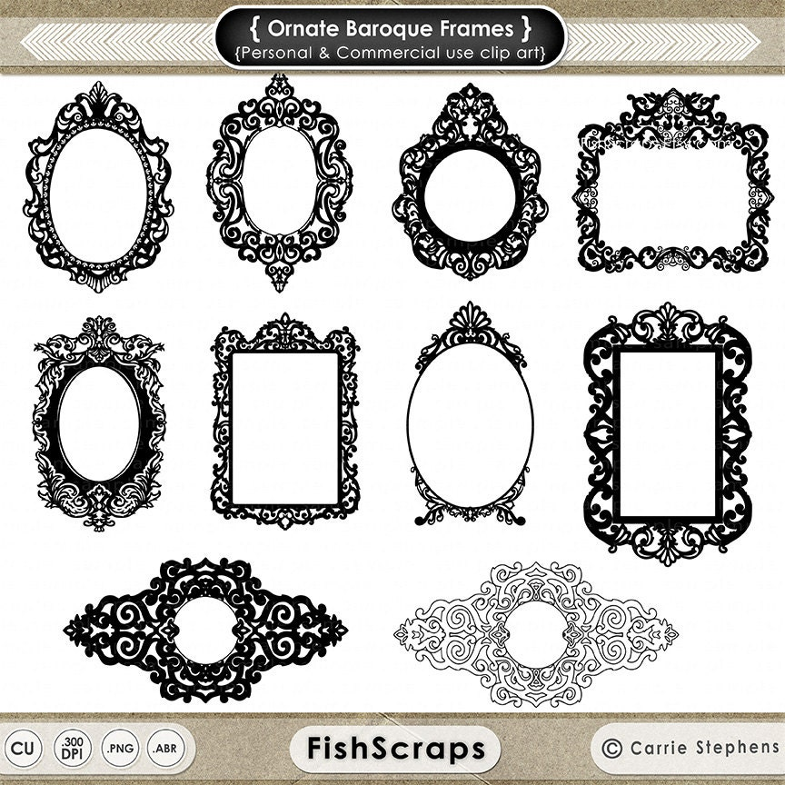 Gothic Frame Clip Art | HD Walls | Find Wallpapers