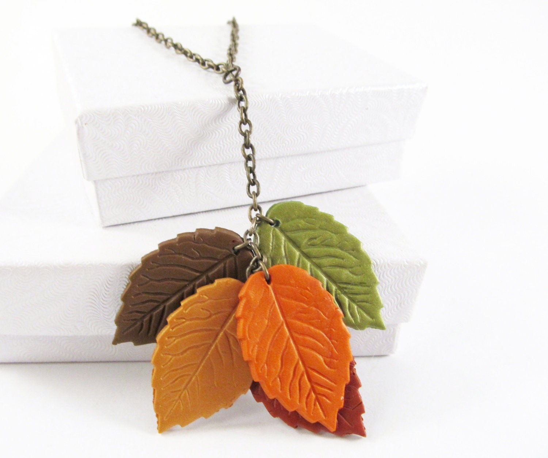 Autumn Leaves Necklace - MissEsAccessories