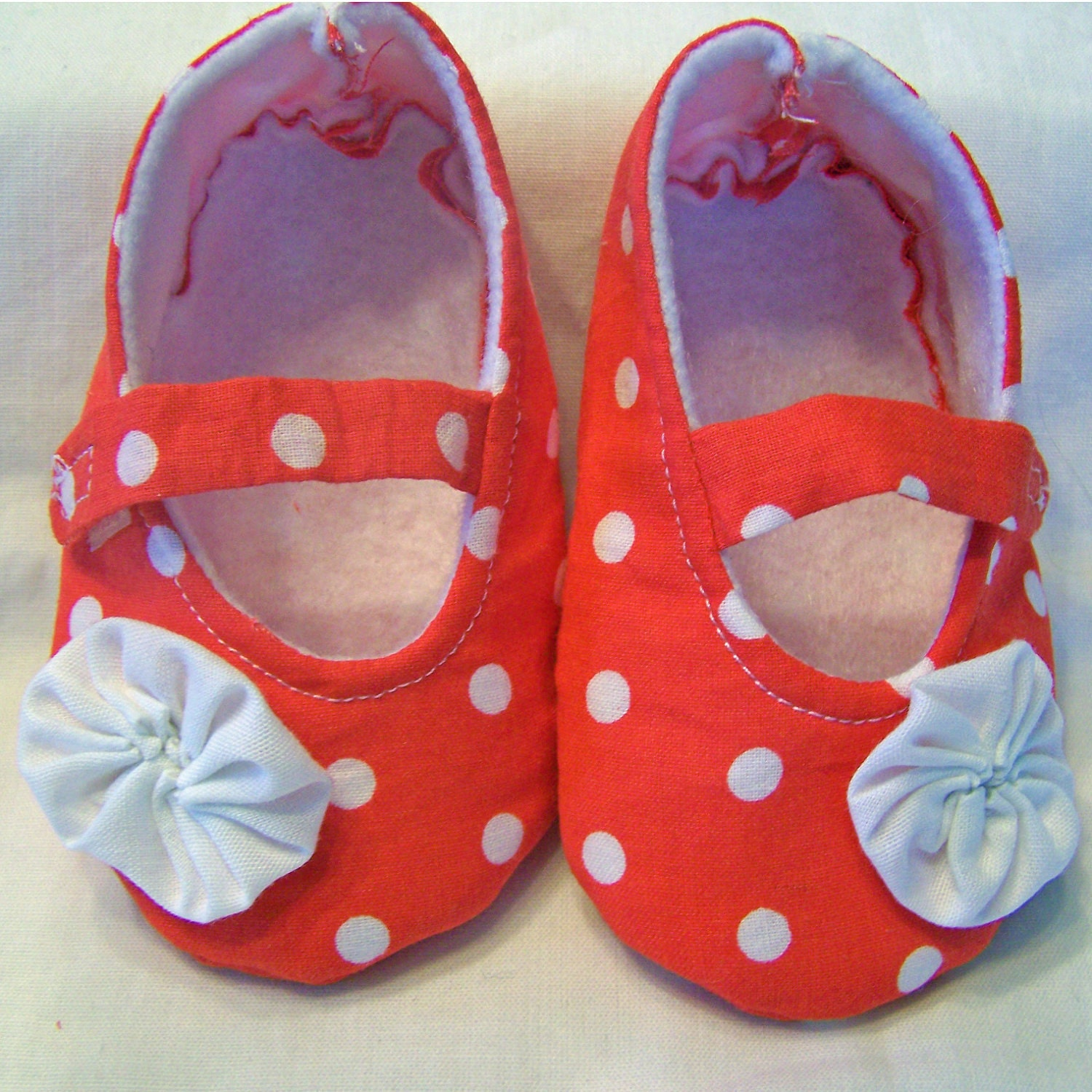 Mary Jane Baby Shoe PDF Sewing Pattern size 0-24 Months
