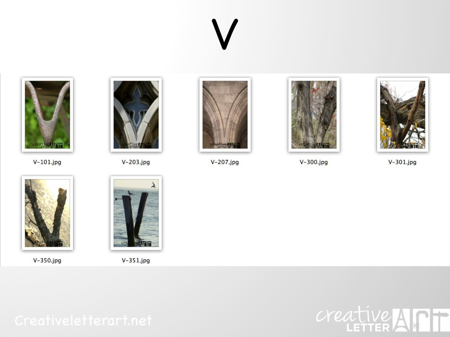 Items similar to letter art v 4x6 photograph print in for Last name pictures architecture