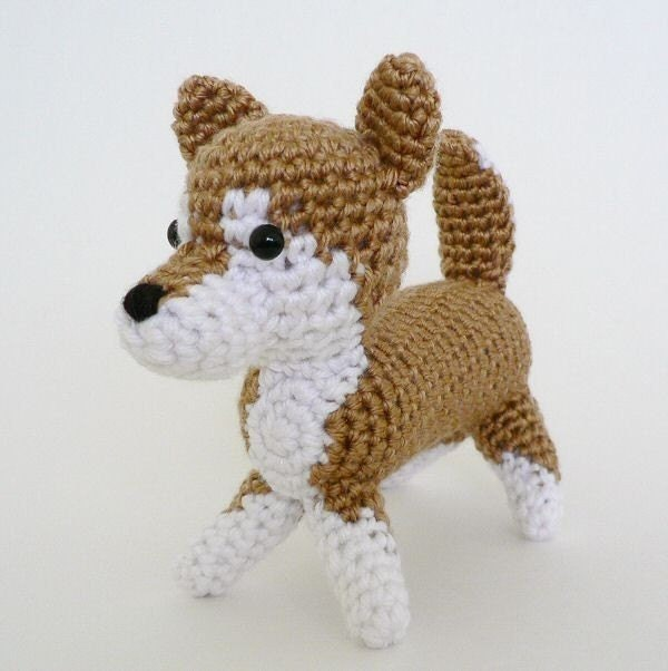 Amigurumi Patterns Dog : AmiDogs Shiba Inu amigurumi dog PDF CROCHET PATTERN by ...