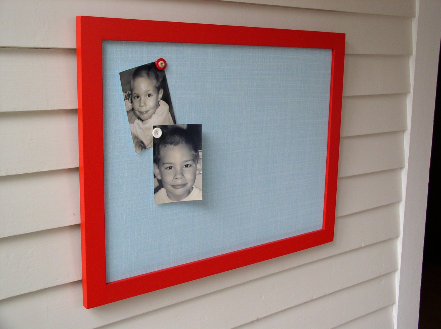 modern magnetic bulletin board with handmade by elegancefarmhome. Black Bedroom Furniture Sets. Home Design Ideas