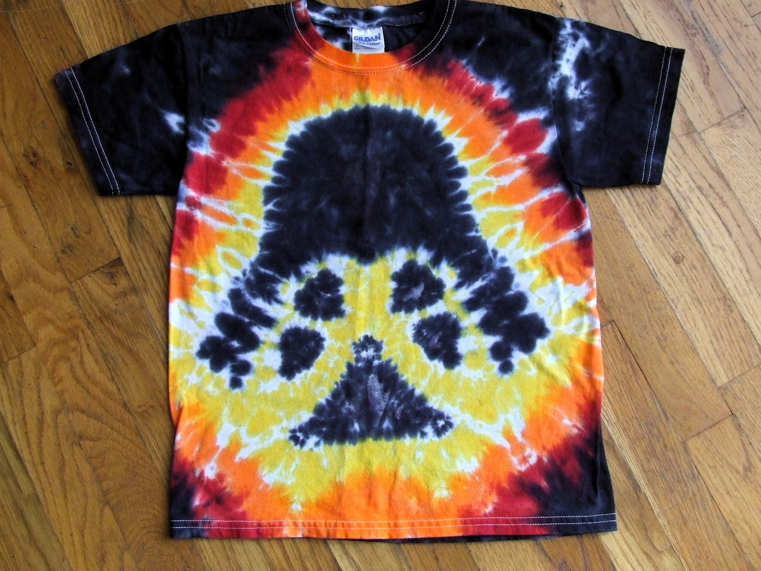 Youth darth vader star wars tie dye t shirt custom by for Customized tie dye shirts