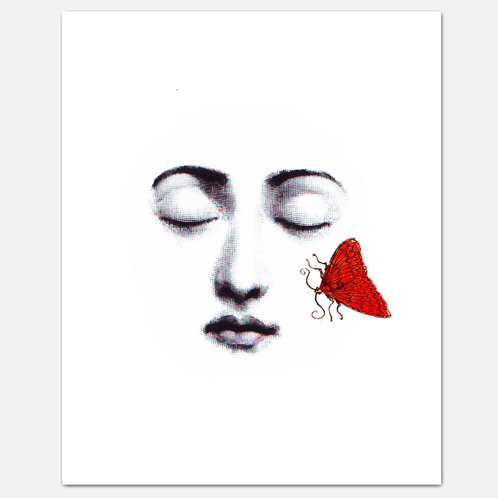 "KISS - ART Print 8 x 10"" - RococcoLA"