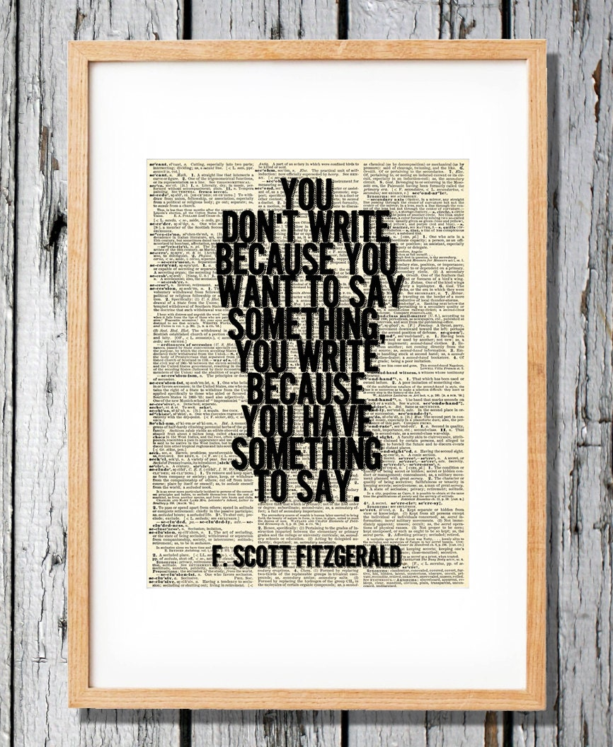 """f scott fitzgerald writing style essay The following is an excerpt from the essay """"the crack-up,"""" reprinted from the crack-up, a compilation of articles written by f scott fitzgerald and published in one book by new directions ."""