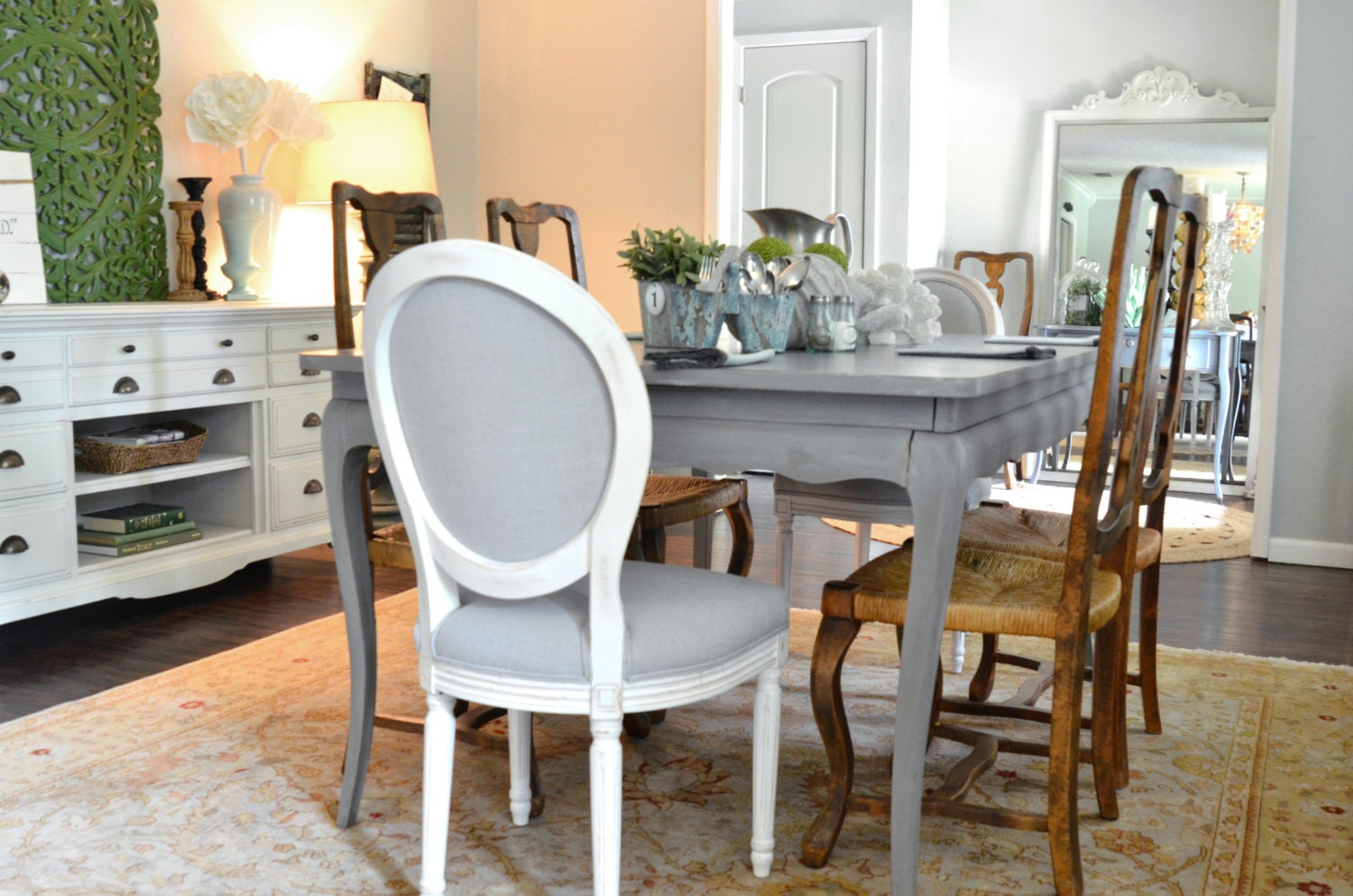 Bramante Extending Dining Table in grey  MADEcom