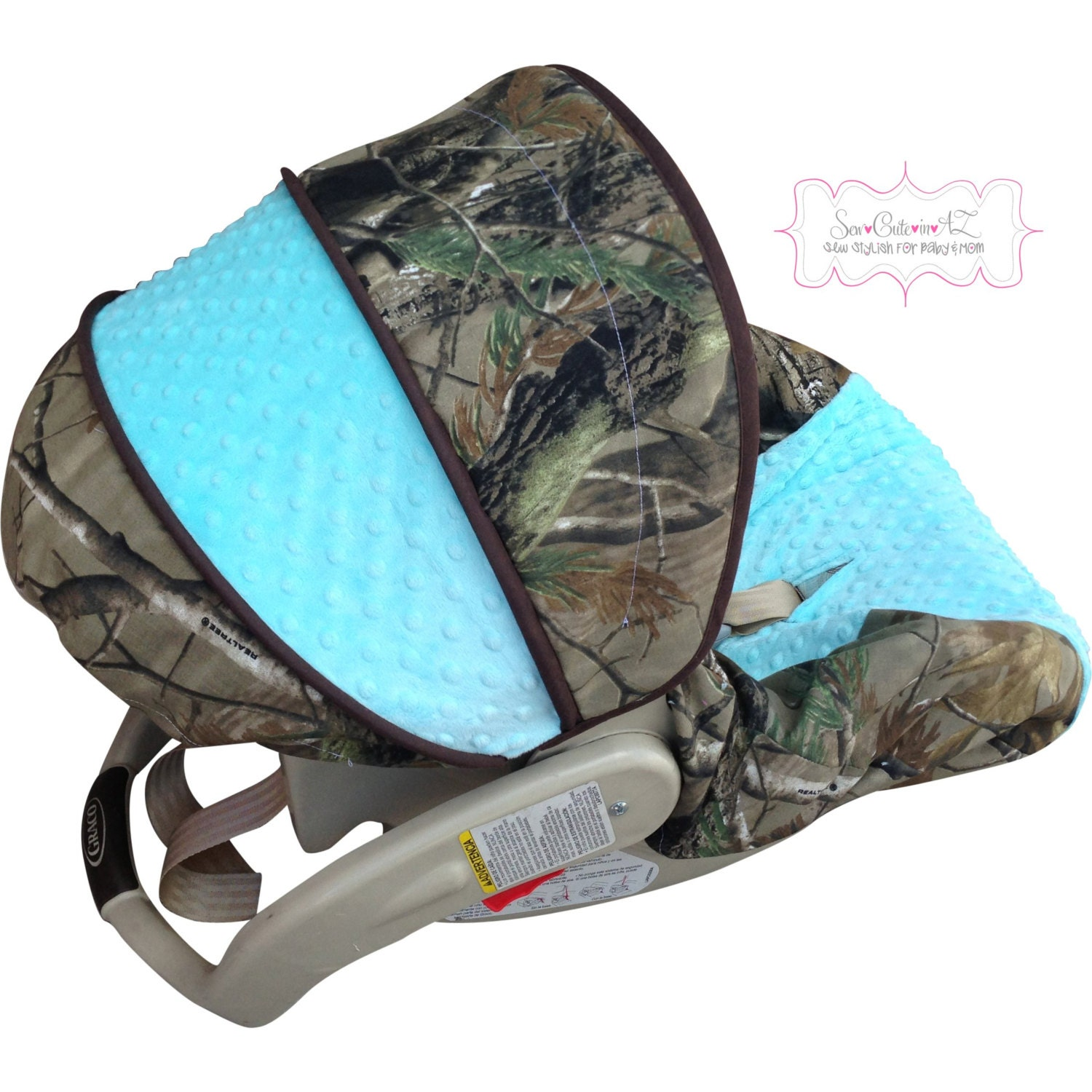 Realtree Camo Baby Car Seat Covers
