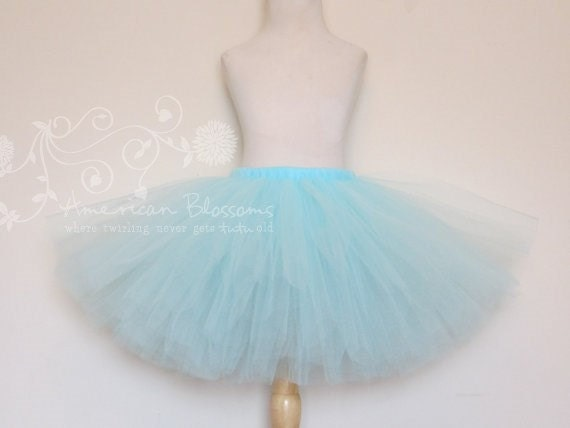 blue tutu skirt toddler baby by americanblossoms