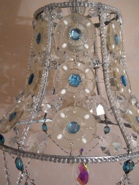 1000 images about kind of inspiring on pinterest lamp for How to make beaded chandelier lamp shades