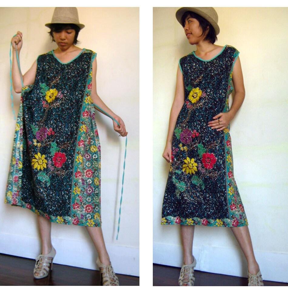 Indonesia Batik Dress by siam2u on Etsy