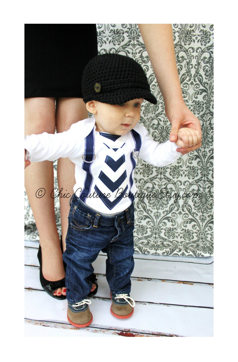 Accessories for a Baby Boy. Hats are a great accessory for children. During the summer and spring not only do they protect from sun rays but also make a great addition to suit outfits.