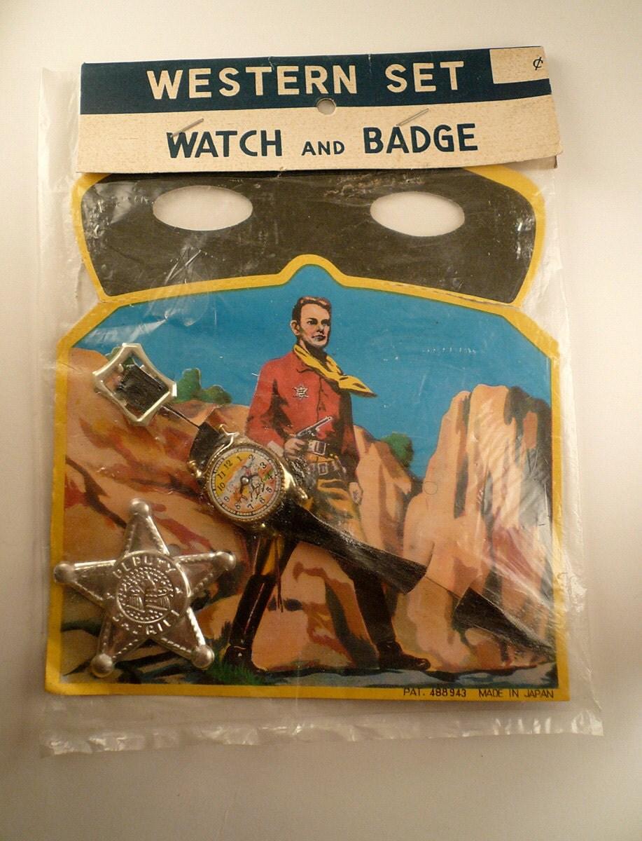 toy vintage western