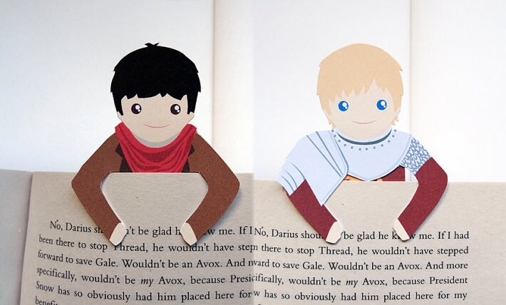 Bookmark Set: Merlin & Arthur