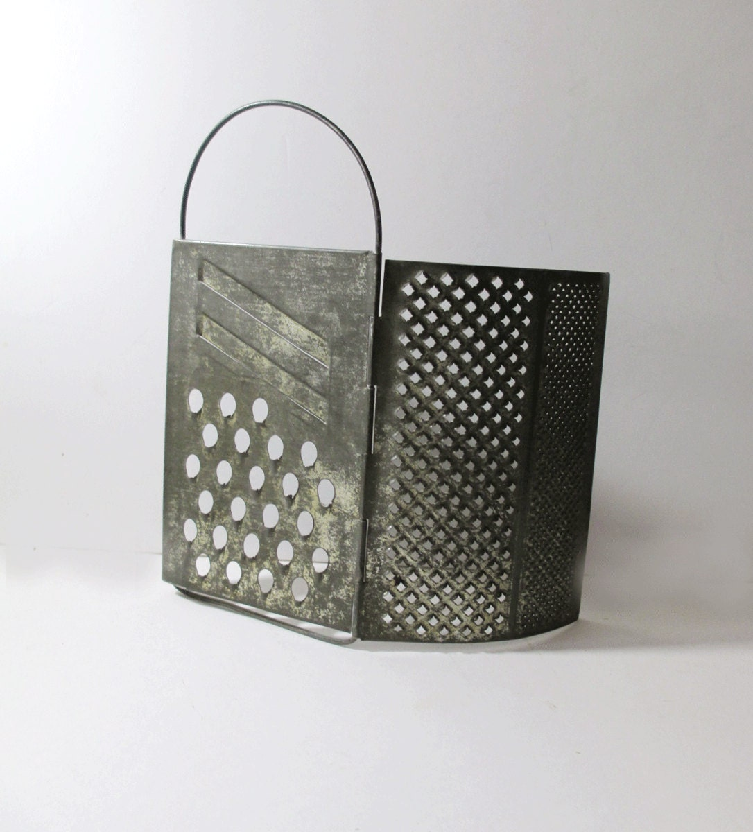 Items Similar To Vintage Folding Kitchen Grater