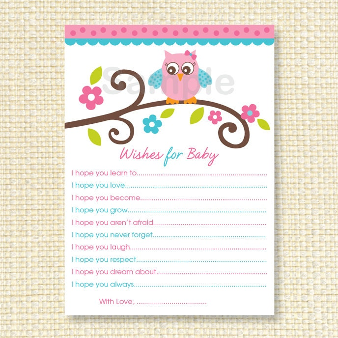 Resource image in wishes for baby printable