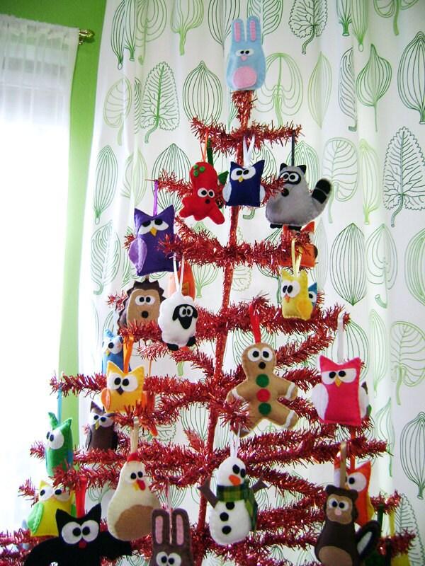 Felt Ornament - Donald the Drippy Monster