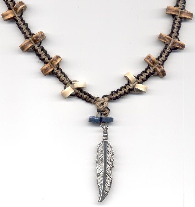 hemp necklace wind seeker for by toxicdaisy on etsy