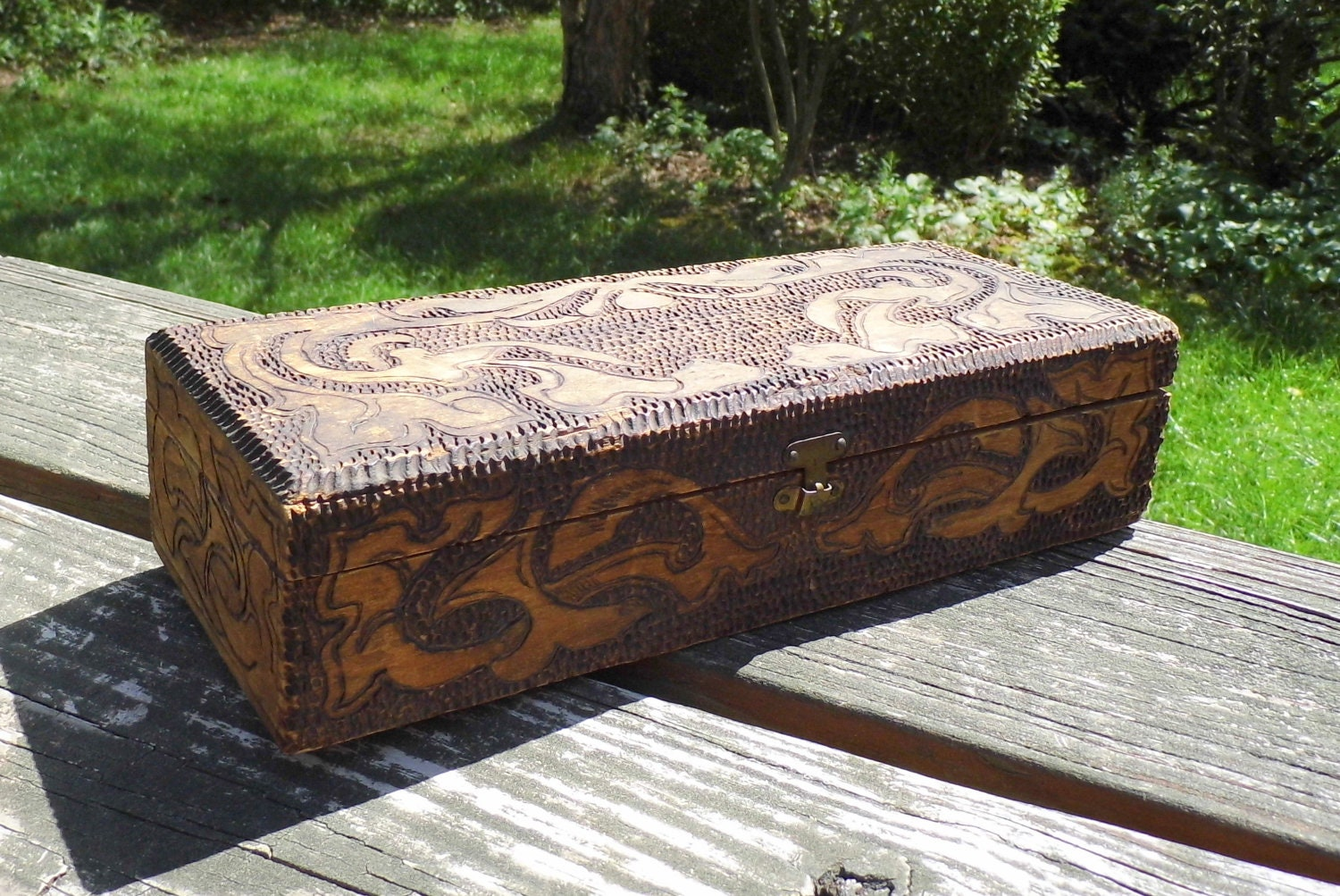 Wooden Glove Box ~ Unavailable listing on etsy