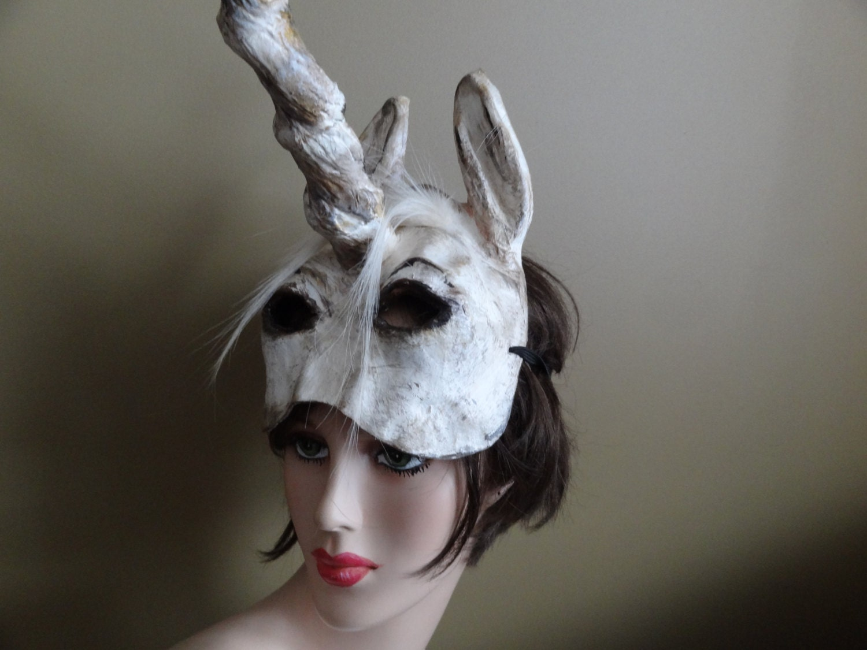 halloween unicorn head