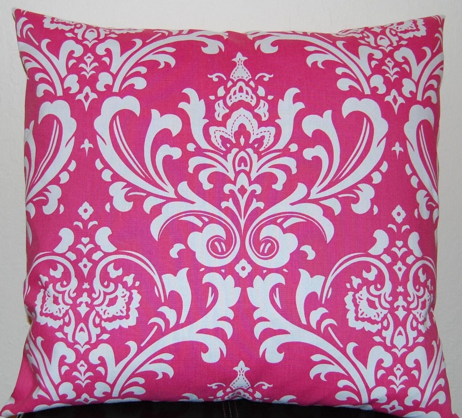 Pink Decorative Pillow Covers : Pink Pillows Decorative Throw Pillow Covers by FestiveHomeDecor